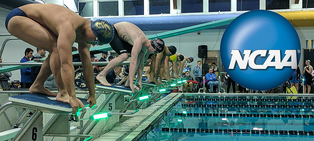 "Gallaudet student-athletes help NCAA to ""See the Light"" with swimming rule change"