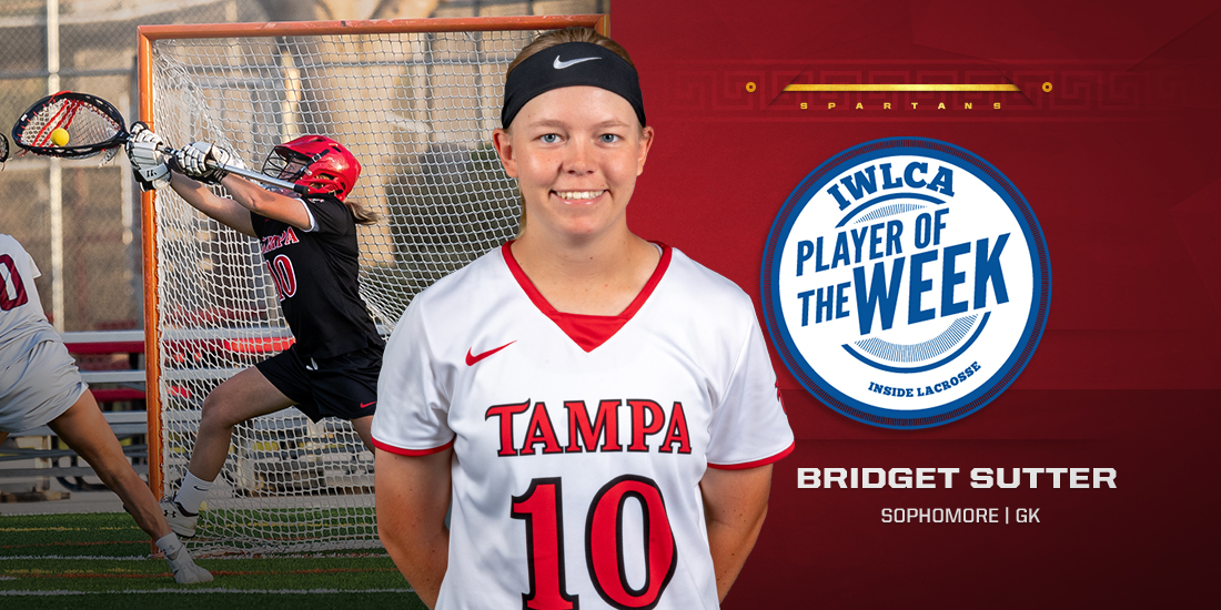 Bridget Sutter Earns IWLCA DII Defensive Player of the Week Honors For the Second Week in a Row