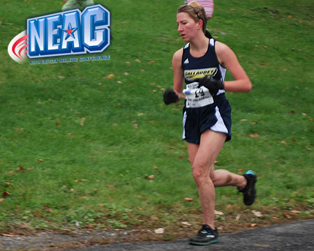 Gallaudet competes in first NEAC championship, finish 8th overall