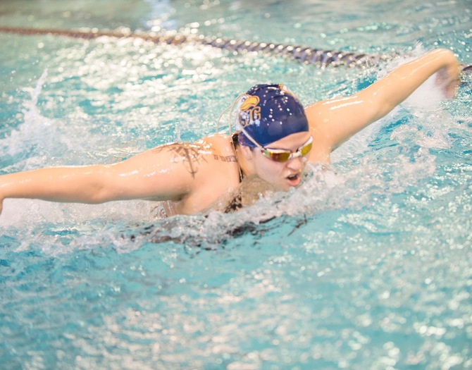 Women's Swimming Earns Victories Over New Rochelle, SJC-Brooklyn on Saturday