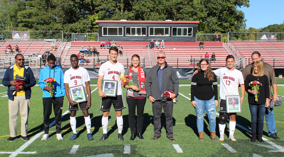 Men's Soccer Outpaced by the Pride on Senior Day, 4-0