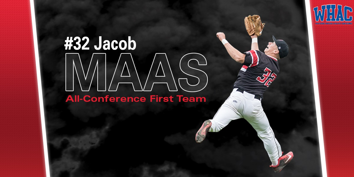 Maas named 1st Team All-WHAC