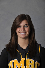 Angela Yannone finished a triple shy of the cycle against Towson last year