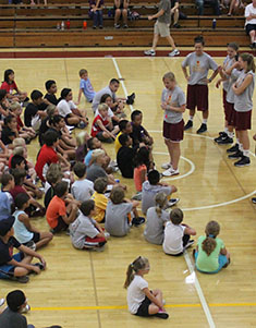 Athenas Basketball Team Hosts Free Youth Clinic