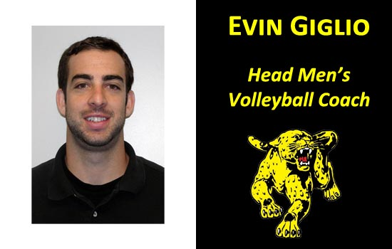 Evin Giglio Named Head Men's Volleyball Coach