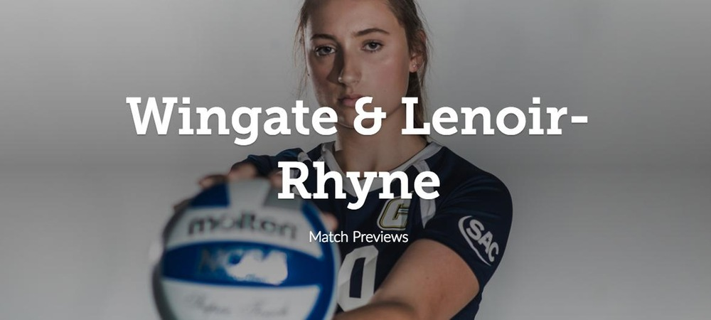 Cobras Set to Host Wingate and Lenoir-Rhyne in South Atlantic Conference Action