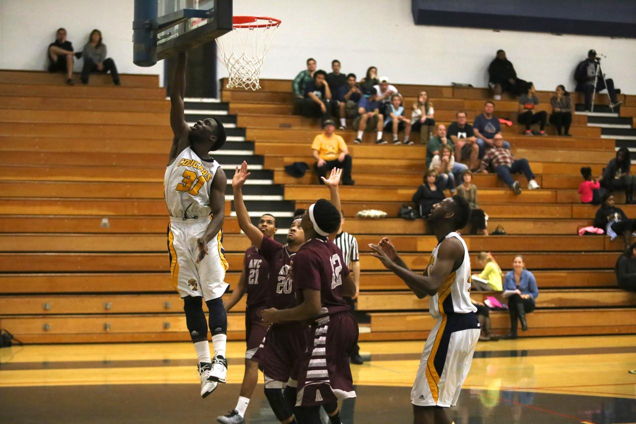 COC Men's Basketball vs. Antelope Valley College - Jan. 7, 2015 - College of the Canyons