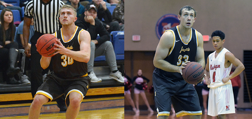 Cam Kuhn and Jake Fetherolf each reach a milestone in OAC victory