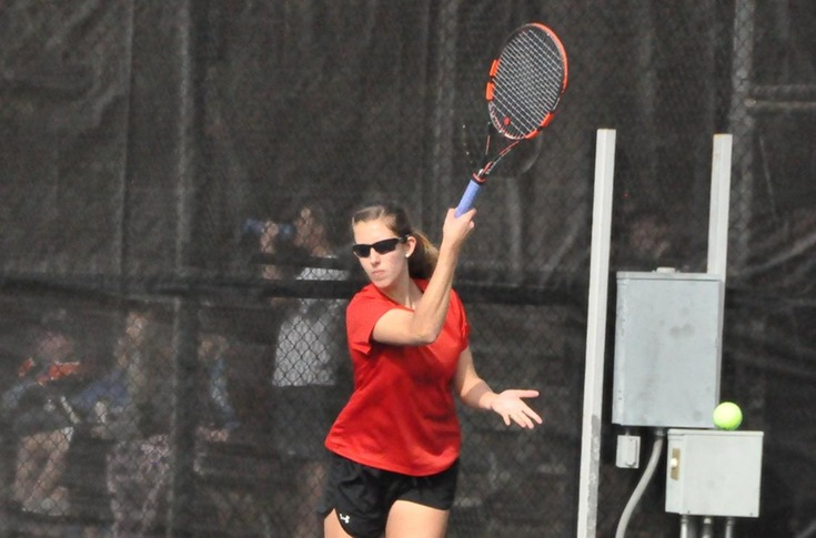 Women's Tennis: Panthers sweep Maryville 9-0