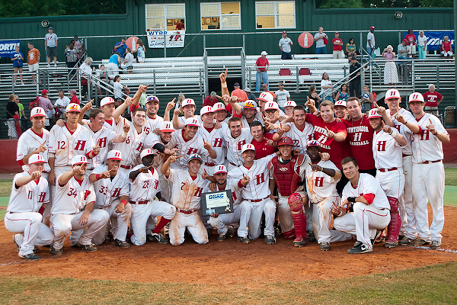 Huntingdon baseball claims GSAC title, awaits word on potential Regional berth