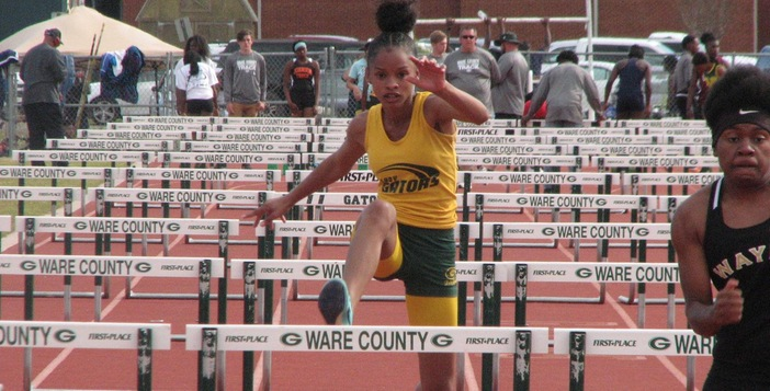 Track Teams Run Away With Meet