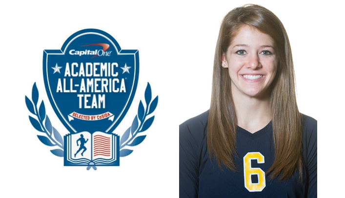 Kelly Schuh Named to Academic All-District Volleyball Team