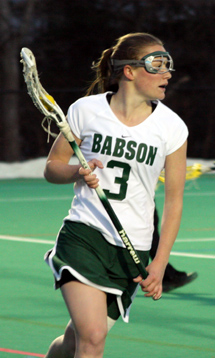 11th Ranked Babson Women's Lacrosse Overpowers Bates, 14-11
