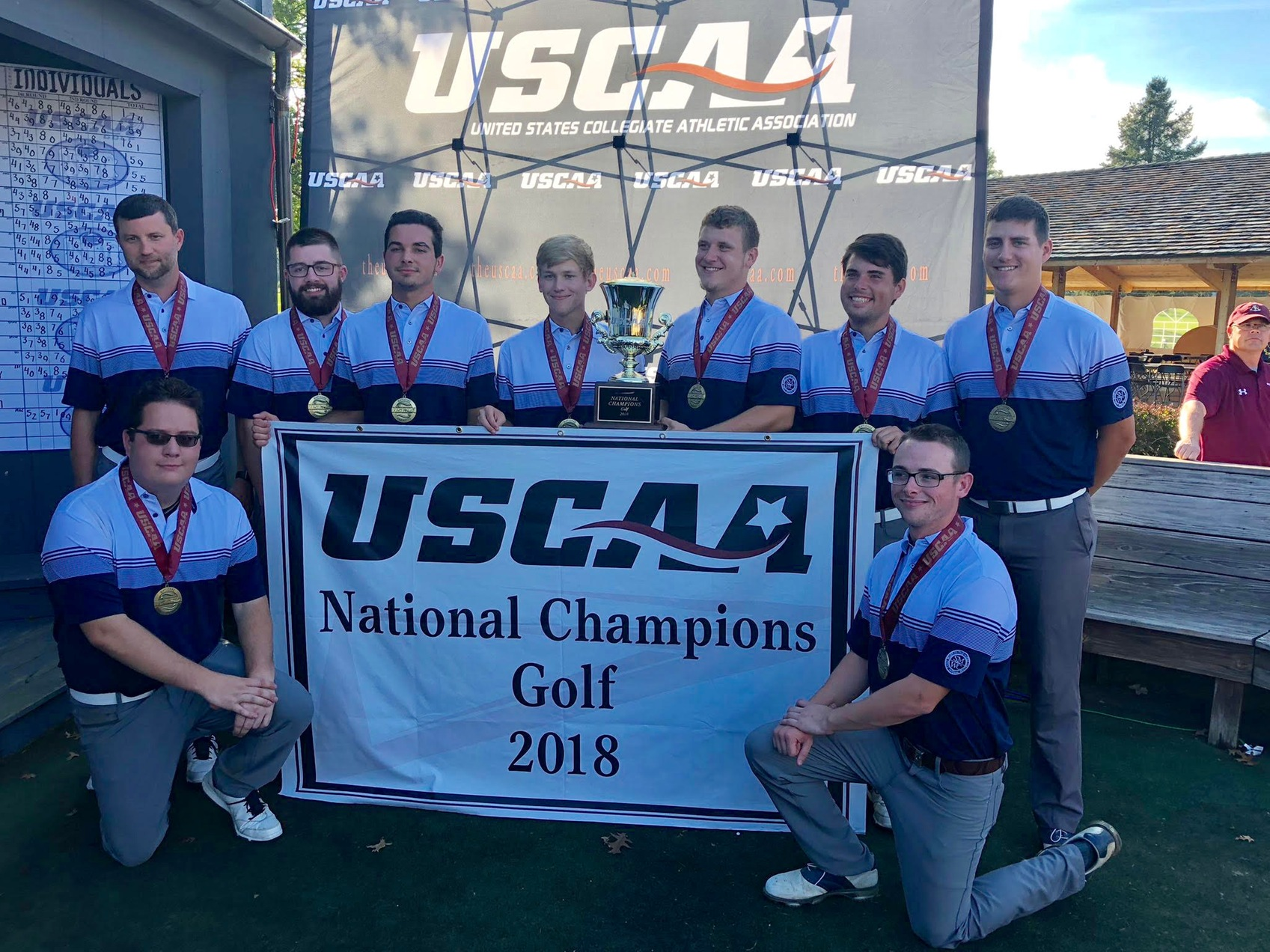 SMWC Makes History; Men's Golf Captures First-Ever USCAA National Title