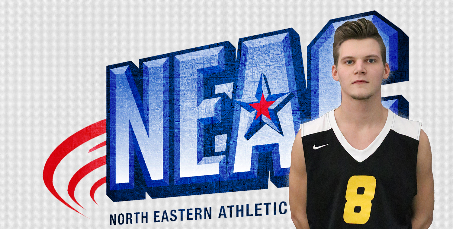 Seth Welker Earns Second NEAC Defensive Player of the Week