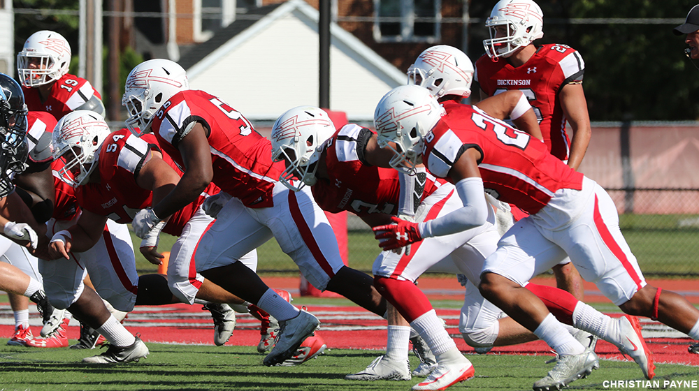 Diplomats Top Red Devils for Homecoming Win