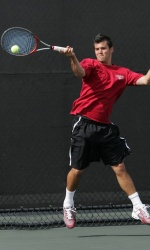 Men's Tennis Fights Hard But Comes Up Short Versus LMU