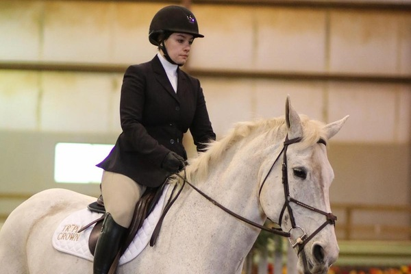 Equestrian places fifth at Bridgewater IHSA