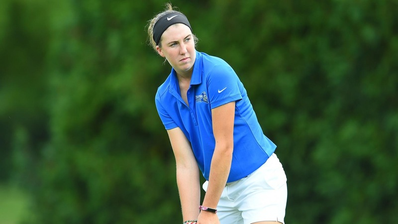 Women's Golf 11th After Day One of Kingsmill Intercollegiate