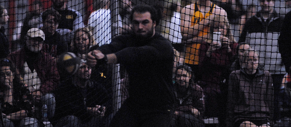 Nathan Adams Qualifies for NCAA Division III Indoor Championships in the Weight Throw