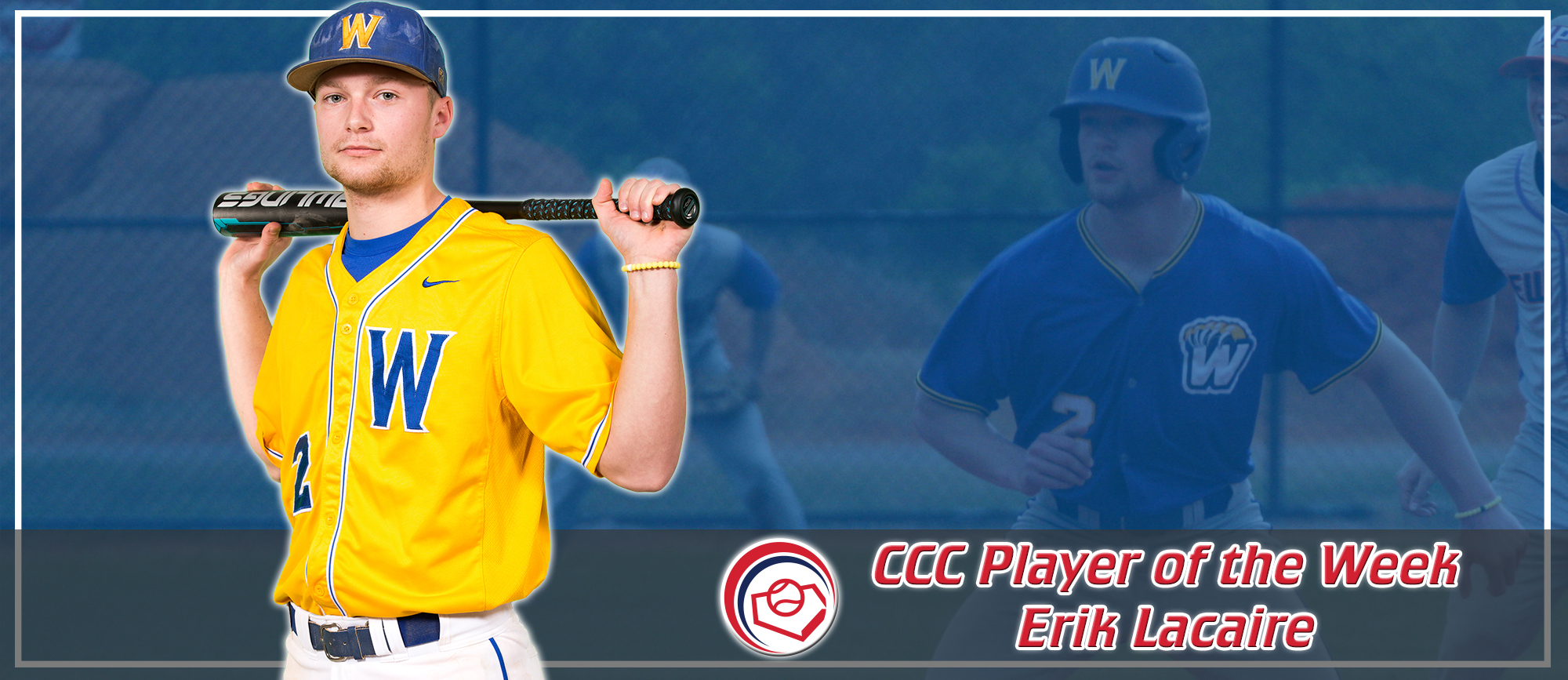 Erik Lacaire Named CCC Player of the Week