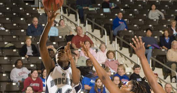Columbus Two-Day Tourney -- Bobcat Women Battle Carson-Newman and Tusculum