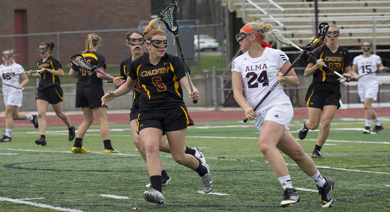 Women's Lacrosse defeats Calvin College 15-8 in MIAA Semi-Final at Bahlke Field on Wednesday afternoon
