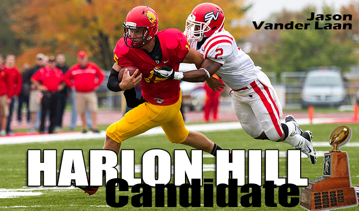 Ferris State's Jason Vander Laan Honored Among 2013 Harlon Hill Trophy Candidates