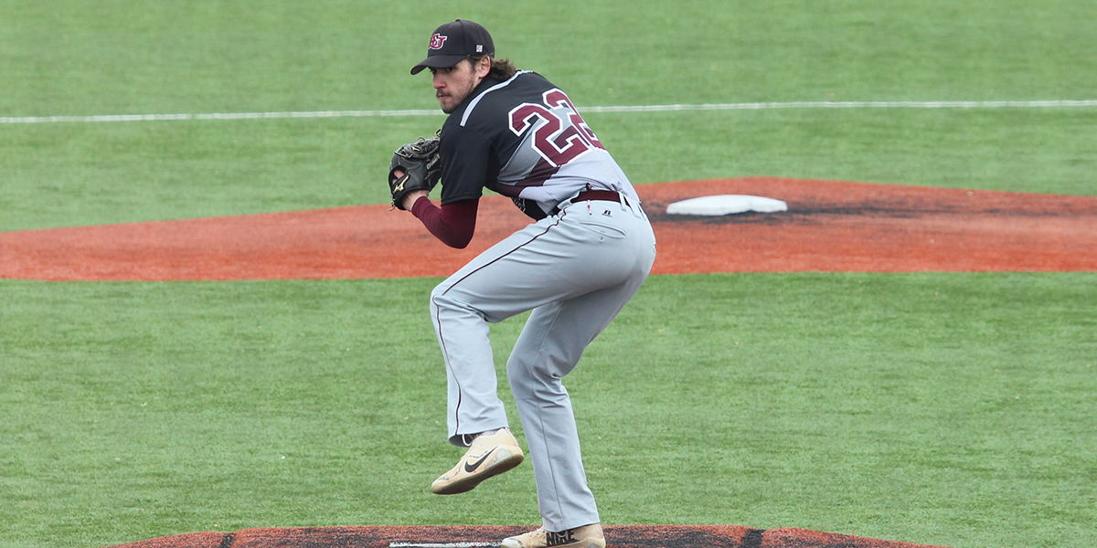Strong Pitching Gives Evangel Baseball Split at College of the Ozarks