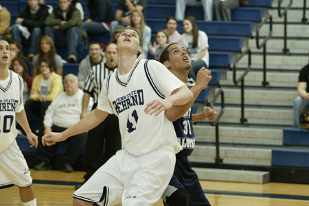 Behrend Clinches Second-Seed Playoff Birth; Men Breeze Past The Mounties, 91-66