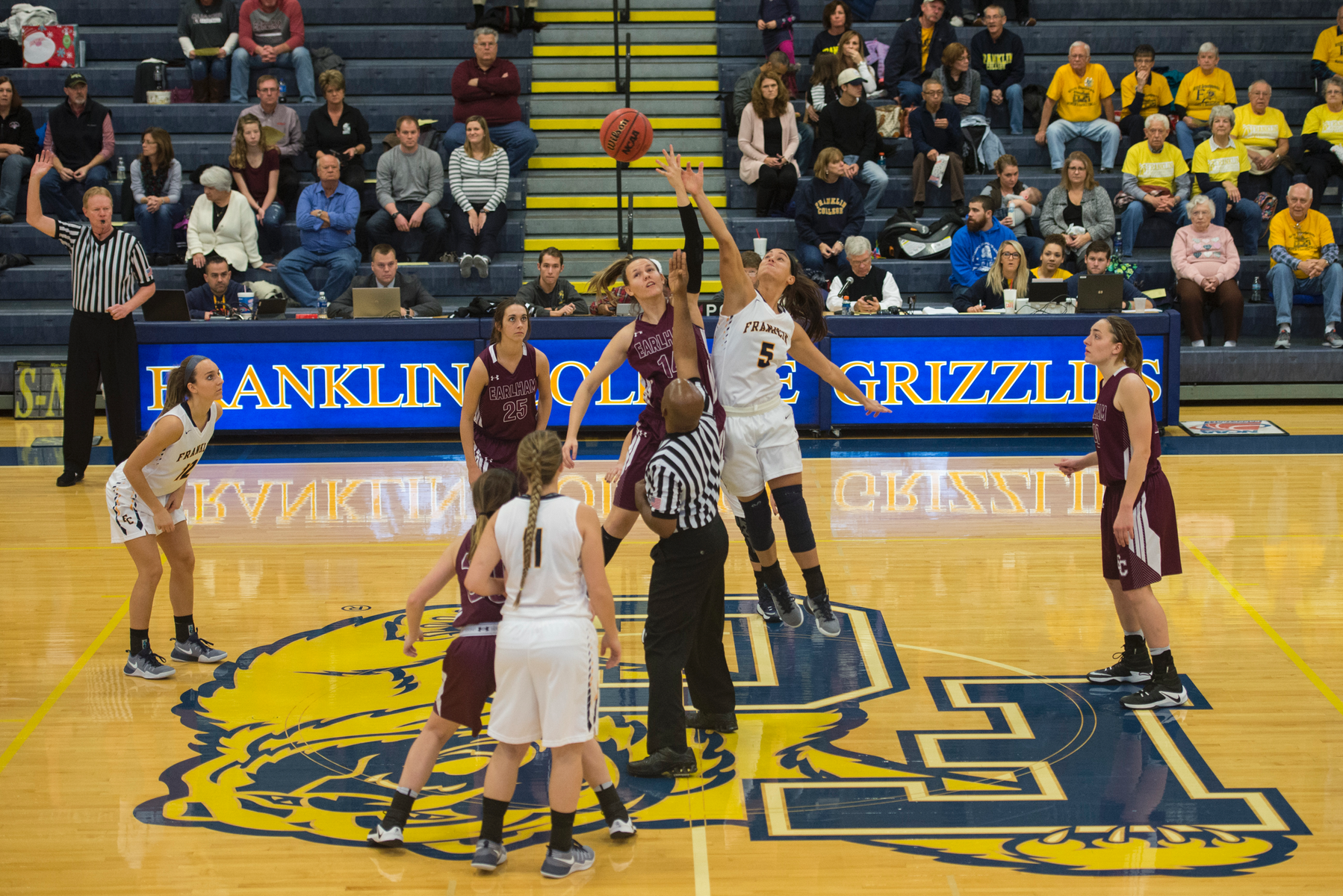 Franklin Women's Wins Hard Close Game Against Earlham College