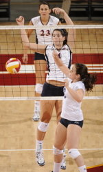 Crucial Match with 49ers On Tap for Volleyball