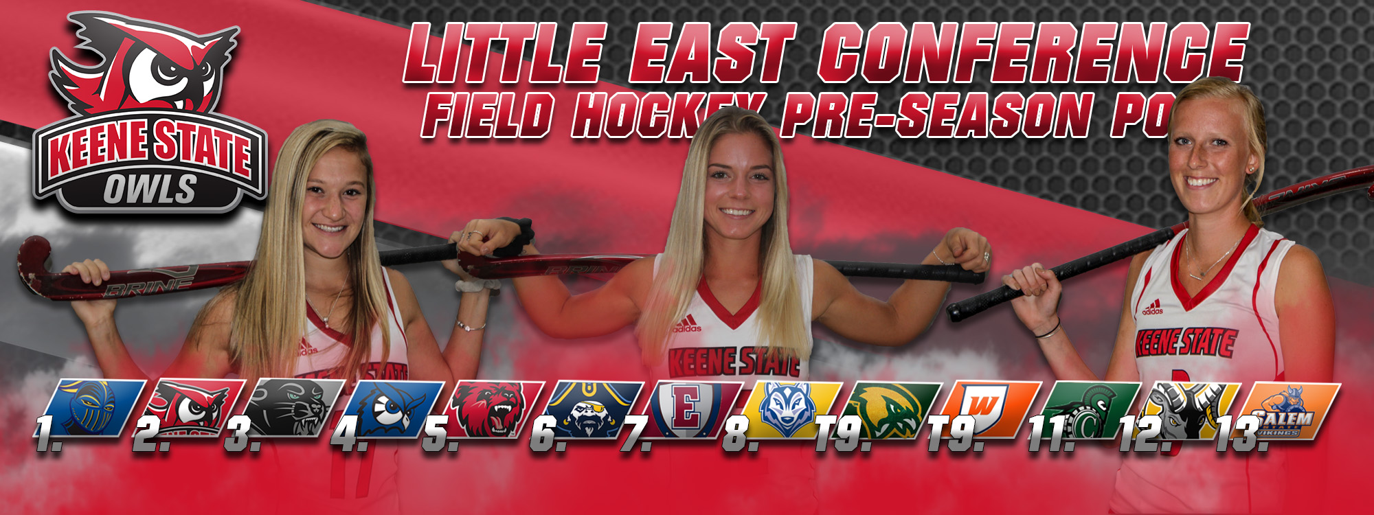 Owls' Field Hockey Predicted To Finish Second In LEC Preseason Poll