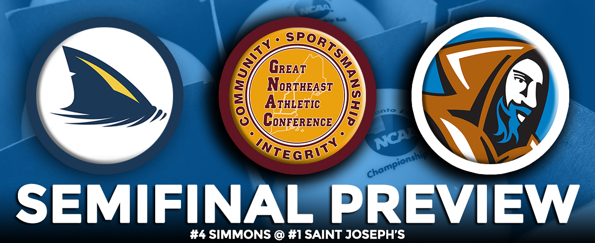GNAC Semifinal Preview: #4 Simmons @ #1 Saint Joseph's