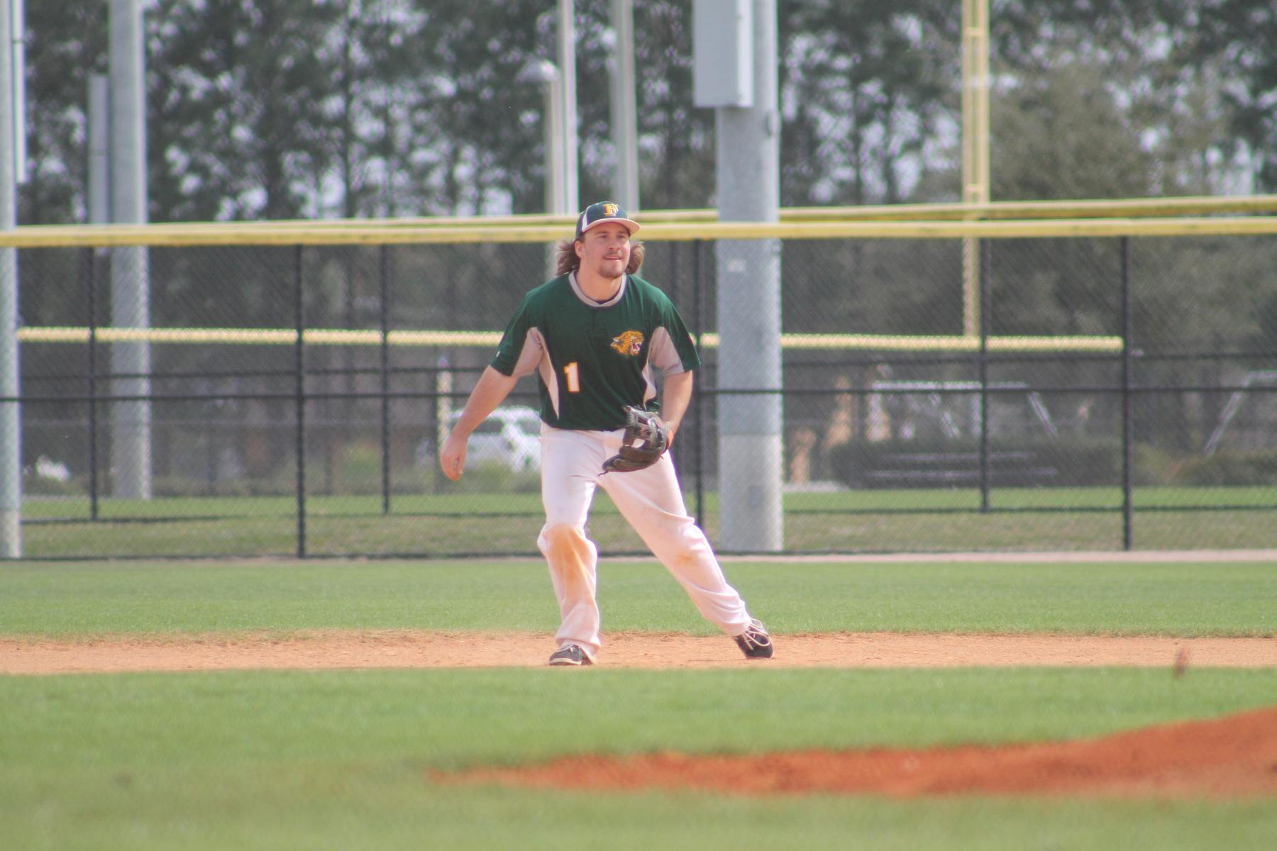 Baseball Splits with Owls In Conference Action