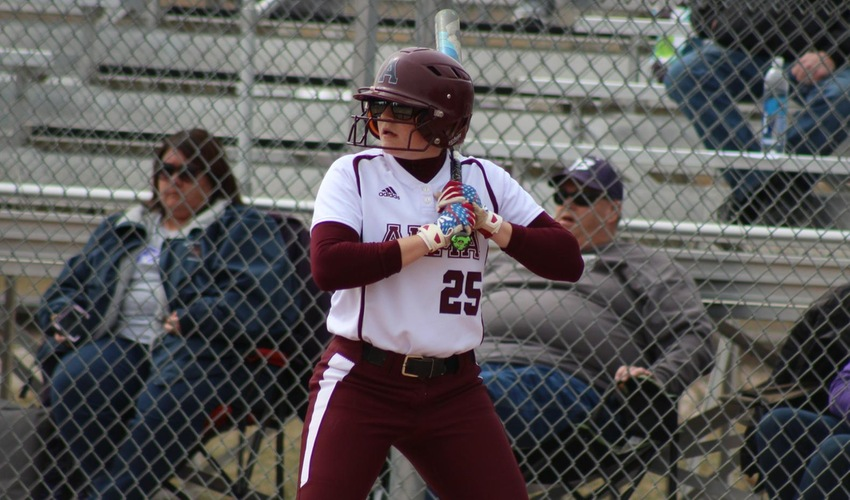 Softball Tags Hornets with Two Home Runs