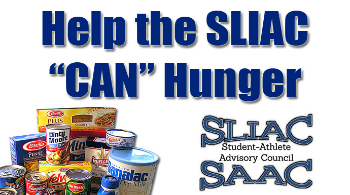 "Help the SLIAC ""Can"" Hunger"