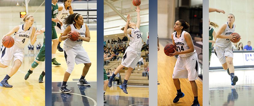 Brandeis Women's Basketball Falls to UAA Rival NYU on Senior Day