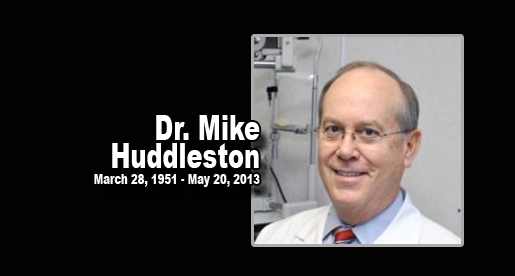 Athletes, staff will miss long-time team optometrist, Mike Huddleston