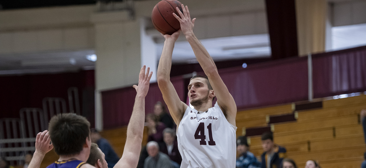 Men's Basketball Blows Past Coast Guard, 96-90, Behind Second-Half Surge