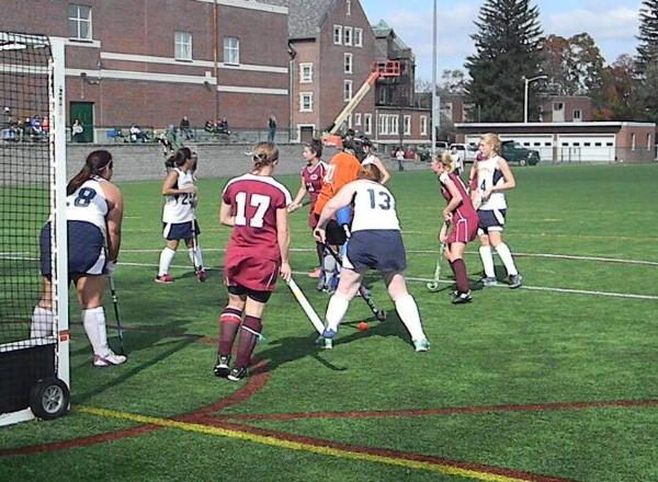Manhattanville Easily Beats Bay Path in Betty Richey Tournament