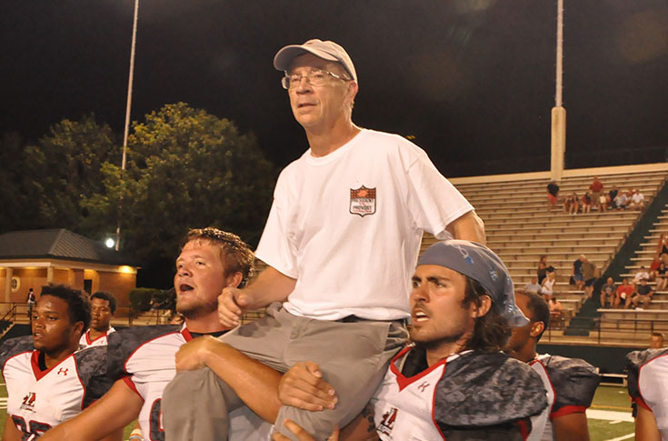 Football: Provost downs President in annual Banks Hall rivalry game