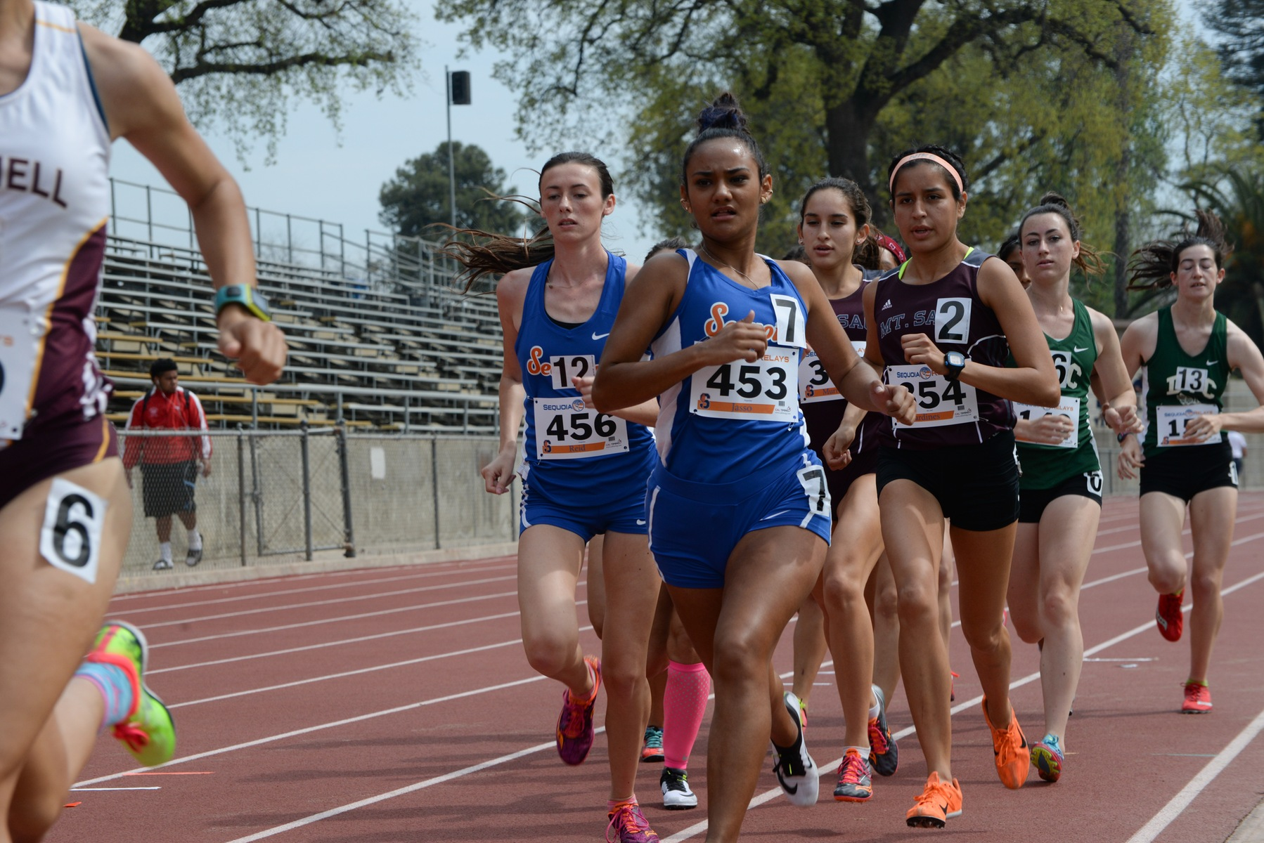Giants compete in Bakersfield College meet