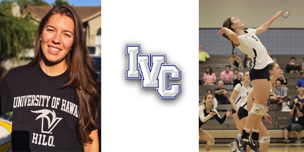 Women's volleyball player Lucee Fitzgerald signs with UH Hilo