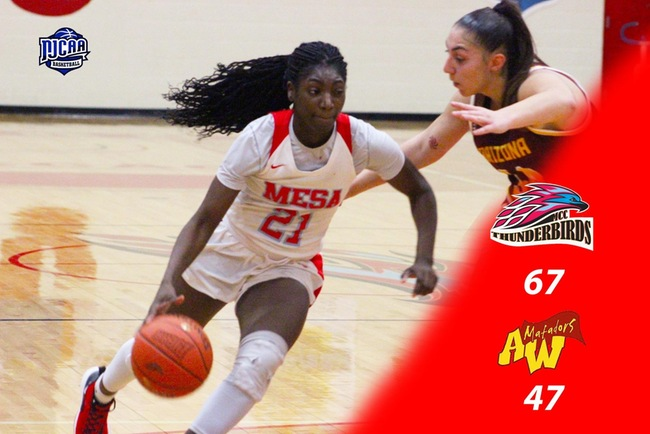 Mesa Takes 20 Point Victory Over Arizona Western, 67-47