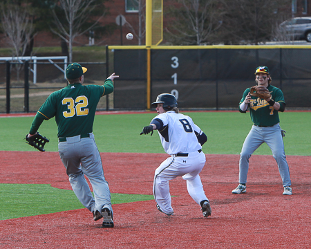 GU bullpen can't contain McDaniel as Green Terror plate five runs in the seventh