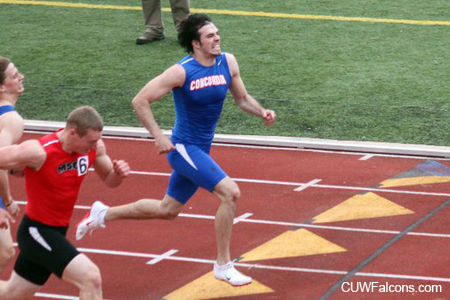 Greefkes is top men's Track & Field performer at Rocky Rococo Invite
