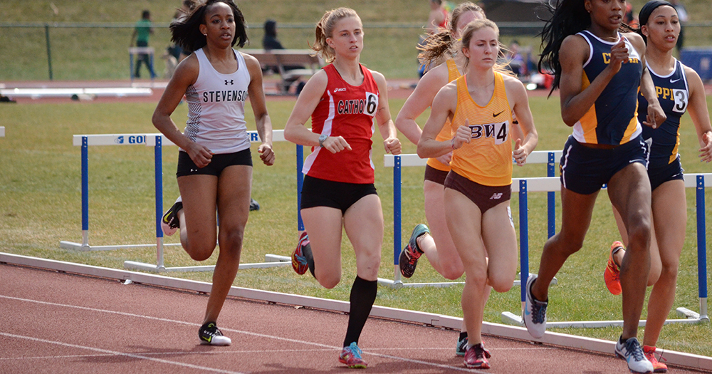 Women's Track & Field Strong at Mary Washington