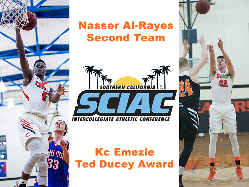 Al-Rayes Named All-SCIAC, Emezie Earns Ted Ducey Award