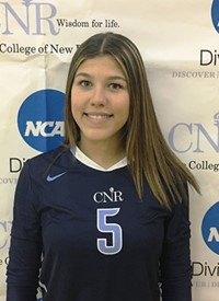 Liciaga awarded Association of Division III Independents women's volleyball Player of the Week